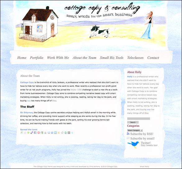Cottage Copy design by Amy Crook