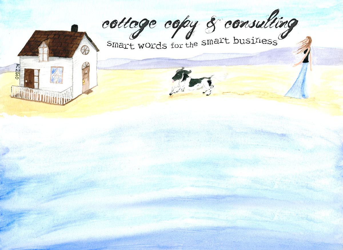 Cottage Copy Header by Amy Crook
