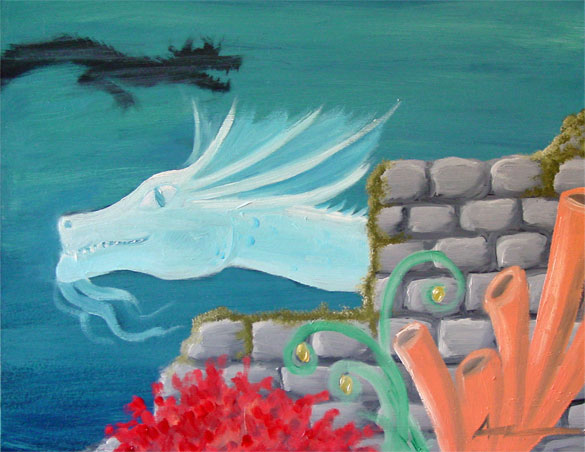 Year of the Water Dragon by Amy Crook