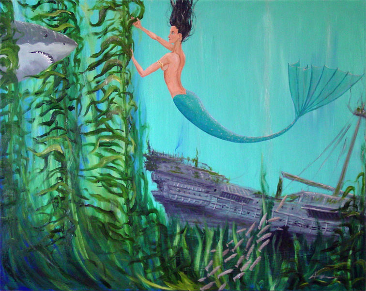 Mermaid by Amy Crook
