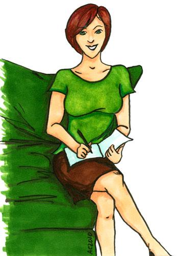 Linda Esposito, version 1, by Amy Crook