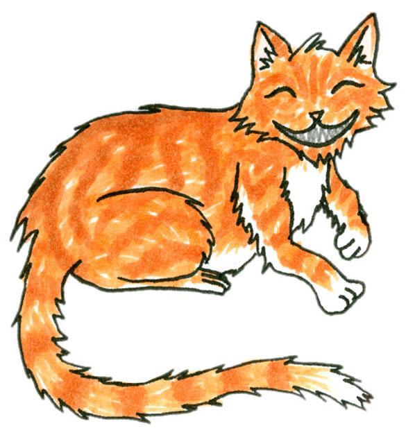 Reiki Kitty by Amy Crook for Elizabeth Halt
